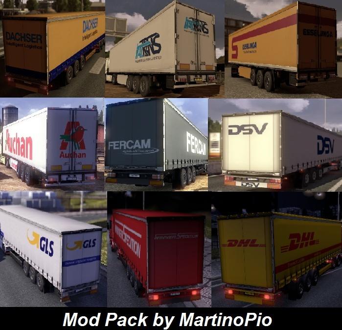 Mod Pack by MartinoPio v0.4.2 - Euro Truck Simulator 2 (mod) Intro_10