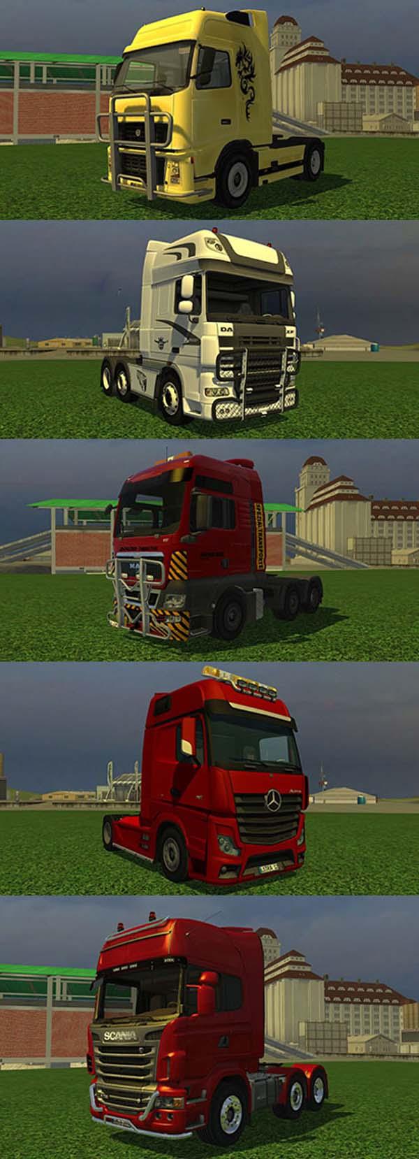 Mod camion Farming Simulator 2013 (LS Trucks Pack - Scania, Volvo, Mercedes-Benz, Man e Daf) Ls-tru10