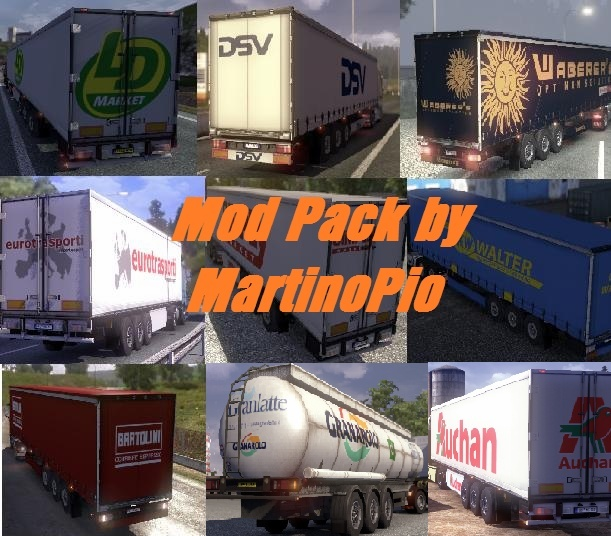 Mod Pack by MartinoPio v0.3.1 (ETS2 Mod): oltre 1000 download! Modmar11