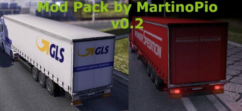 Mod Pack by MartinoPio v0.3.1 - Euro Truck Simulator 2 (mod) Modpac10