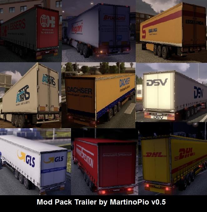 Mod Pack by MartinoPio v0.5 - Euro Truck Simulator 2 (mod) Modpac11