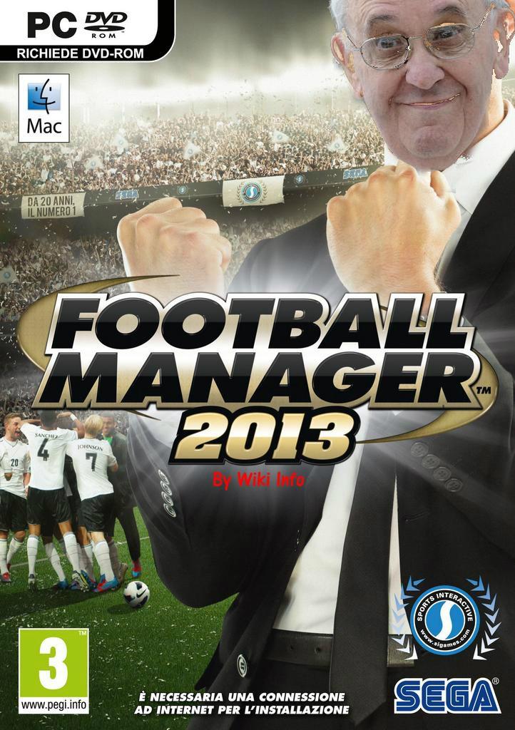 Papa Francesco scarica illegalmente Football Manager 2013 (?) Papa-c10