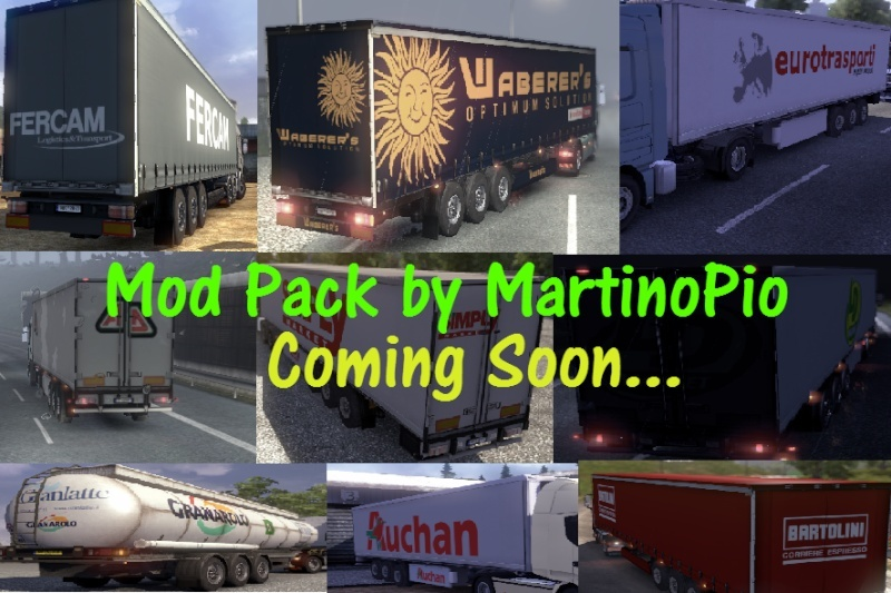 In arrivo ETS2 Mod Pack by MartinoPio Traile10