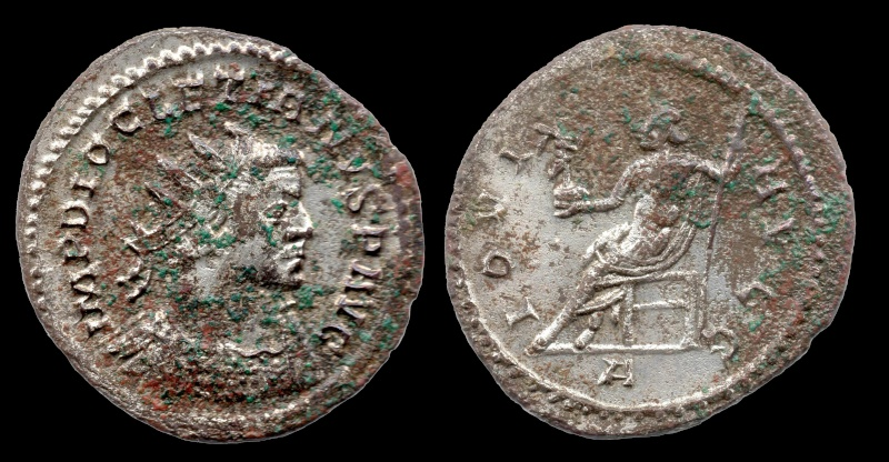 Aureliani de Lyon de Dioclétien et de ses corégents 62-dio10