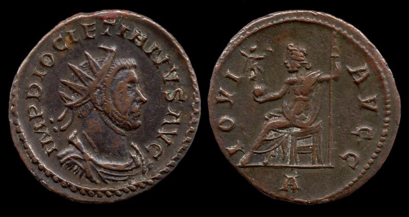 Aureliani de Lyon de Dioclétien et de ses corégents 64-dio10
