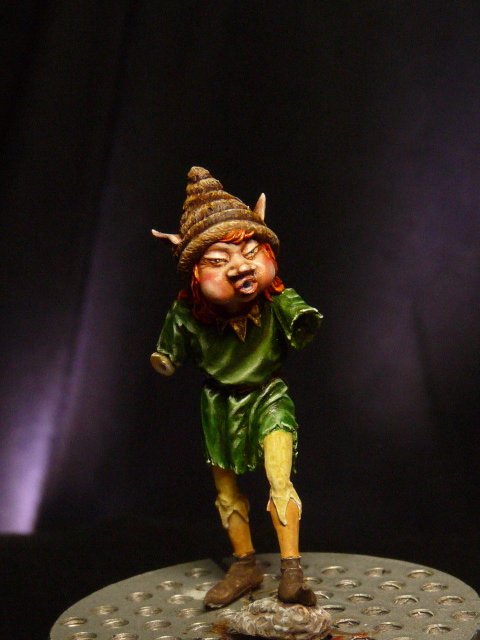 FINI - le lutin de Blacksmith Miniatures par BONO P1050227