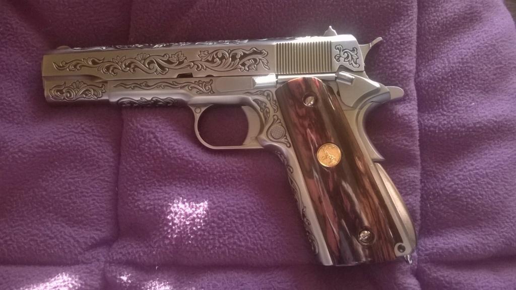 Achat plaisir vraiment satisfaisant. Cybergun Colt 1911 rail gun stainless - Page 2 1911_f10