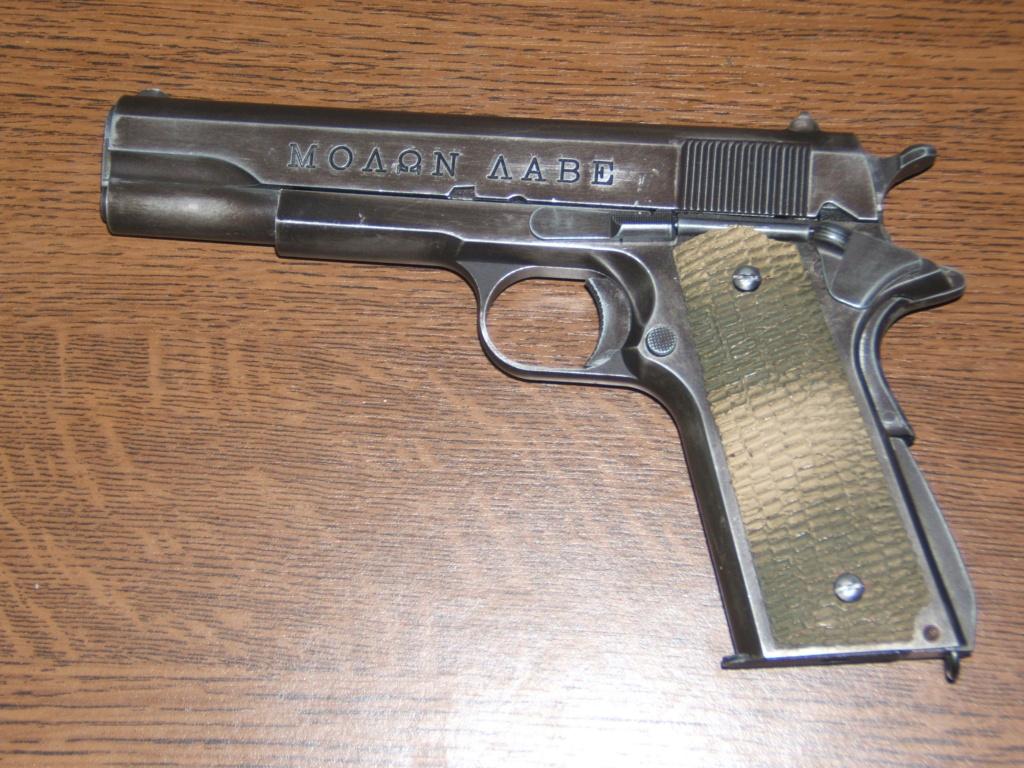 Achat plaisir vraiment satisfaisant. Cybergun Colt 1911 rail gun stainless - Page 2 Molon_10