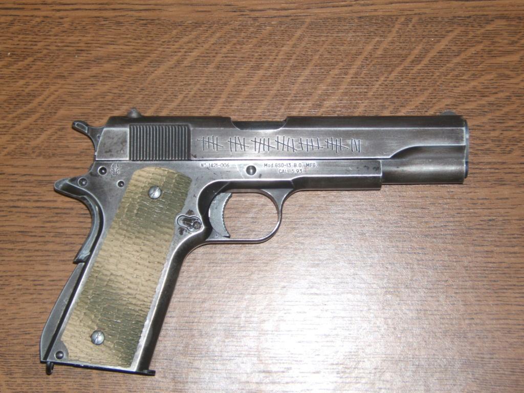Achat plaisir vraiment satisfaisant. Cybergun Colt 1911 rail gun stainless - Page 2 Molon_11
