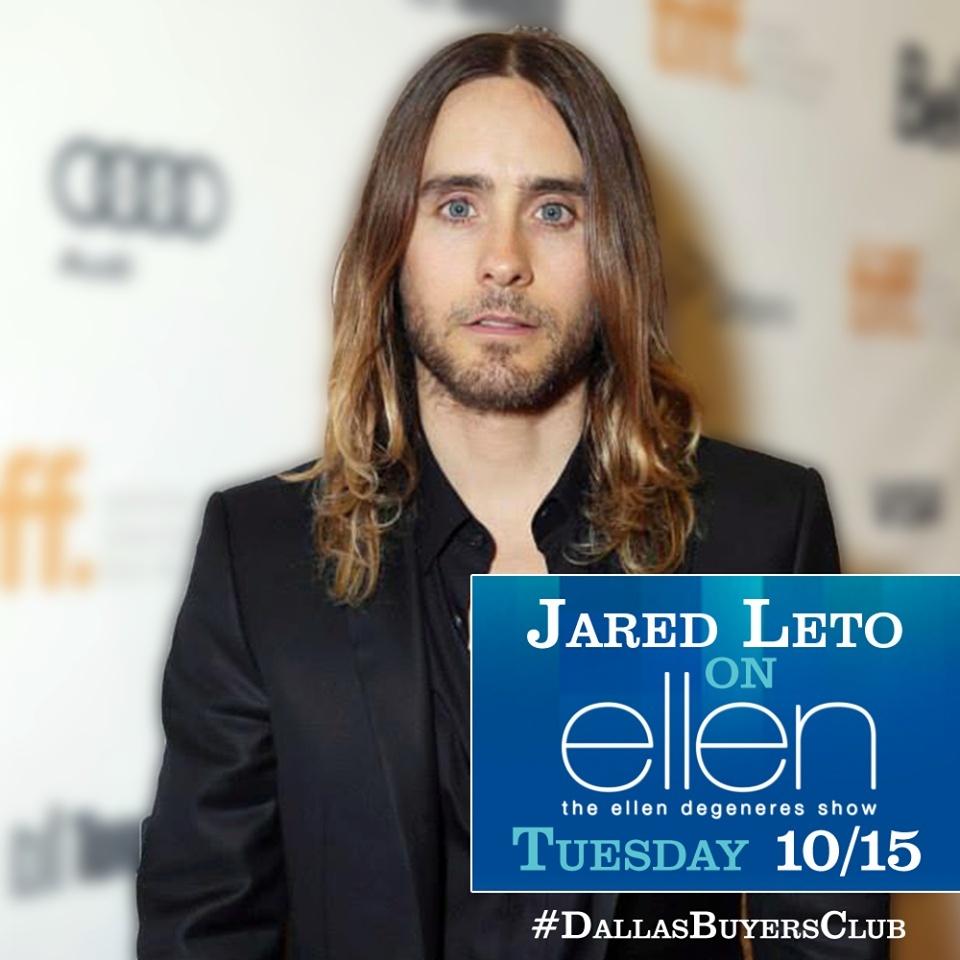 Jared - The Ellen DeGeneres Show 15/10/2013 Jared_10