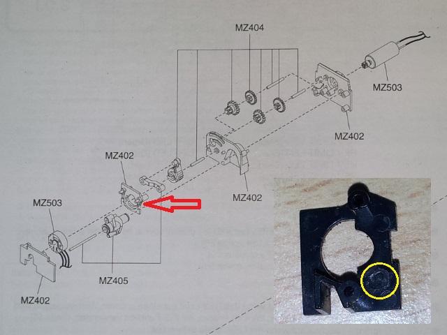 cherche pièce support de pignon de direction 20140216