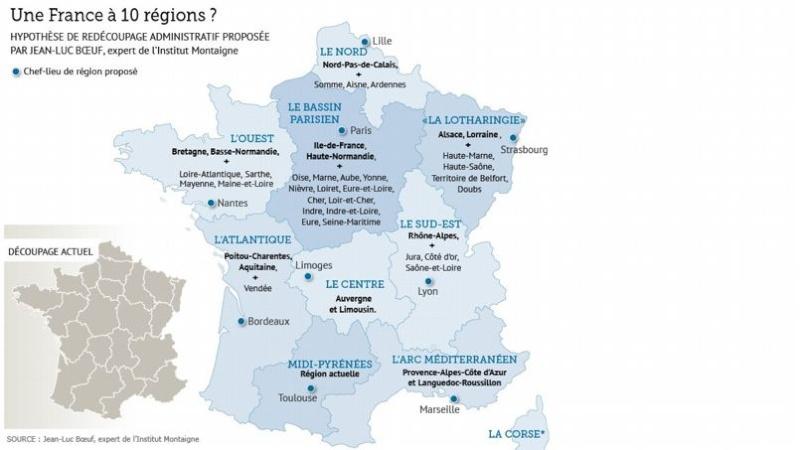 Nombre de régions : valls veut les diviser par deux  - Page 2 Region10