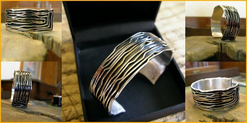 bracelet argent et or Bracel25