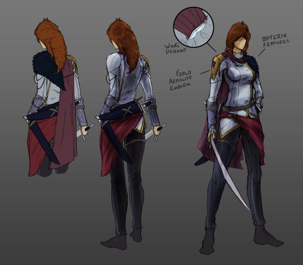 Ellian - Character Design Ellian10