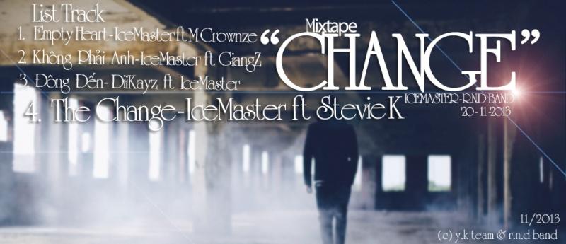 "Mixtape "" Change "" - IceMaster Banner10"