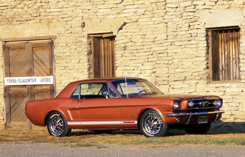 MUSTANG 50 ans çà se fête Ford-m11