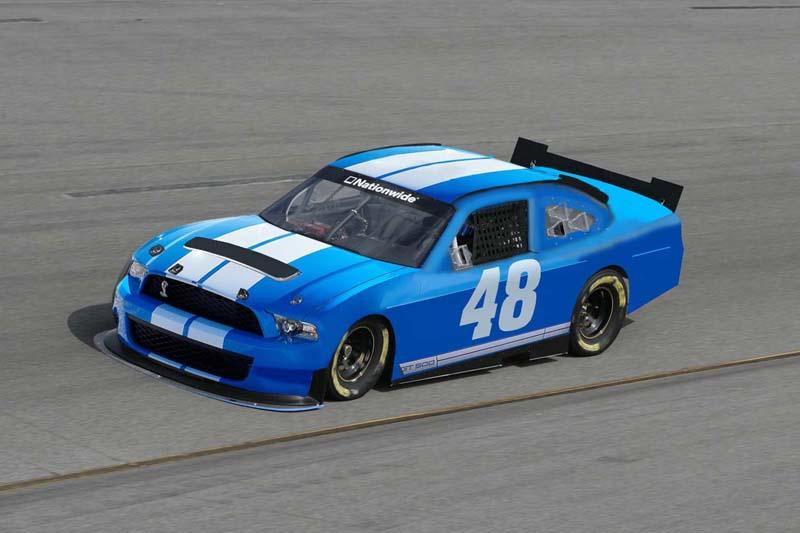 Mustang '65 NASCAR enfin FINI - Page 2 Nascar10