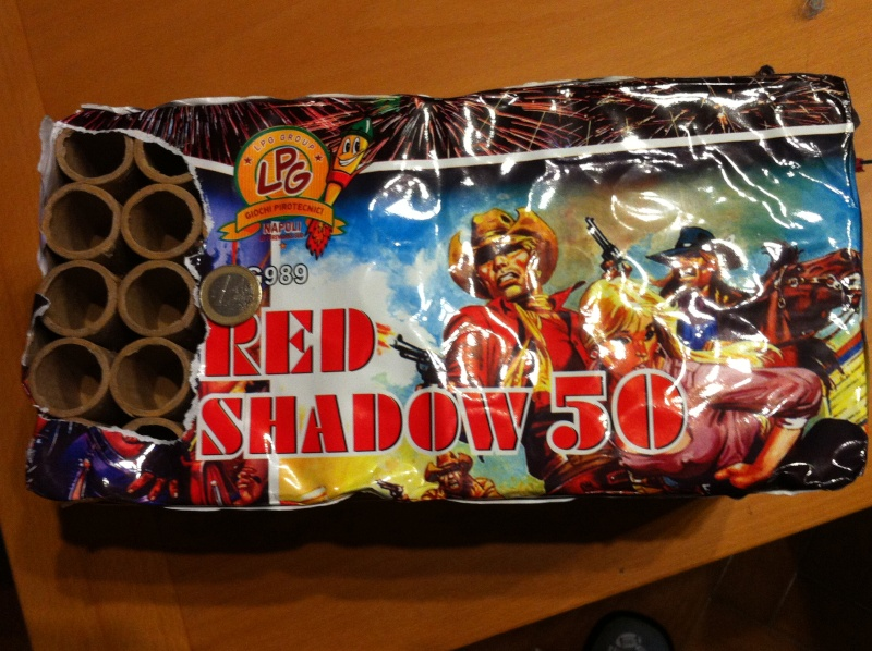 Art. G989 red shadow 50 Red12311
