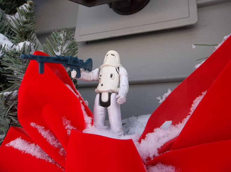 IT STOPPED SNOWING : ) Happy Holidays everyone!!!!!!! Itstop12