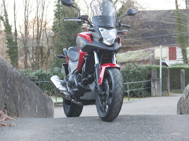 """Essai de la """"nouvelle"""" NC 750 X par motards en voyage Copie_40"""
