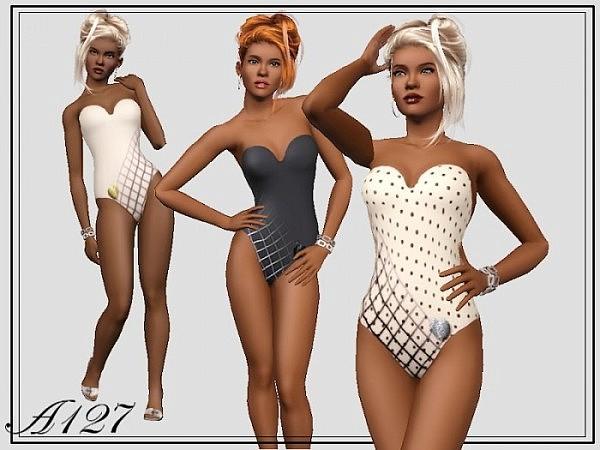 Romantic Swimwear by Altea127 2714-610