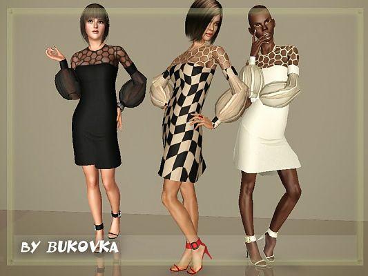 Set Vogue (dress + shoes) by bukovka Sims3u12