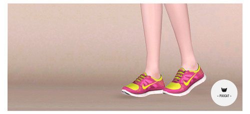 Nike Free Run 3 Male & Female Trainers By Pixicat Tumblr13