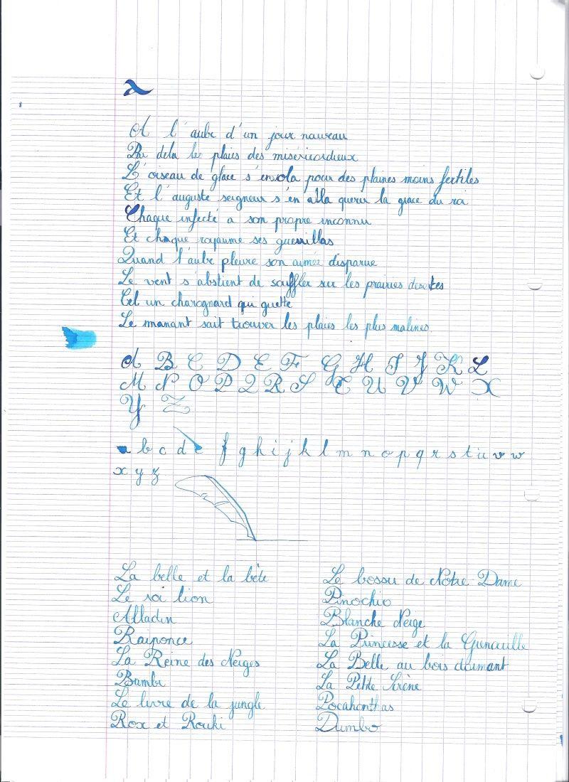 Écriture Anglaise Callig10