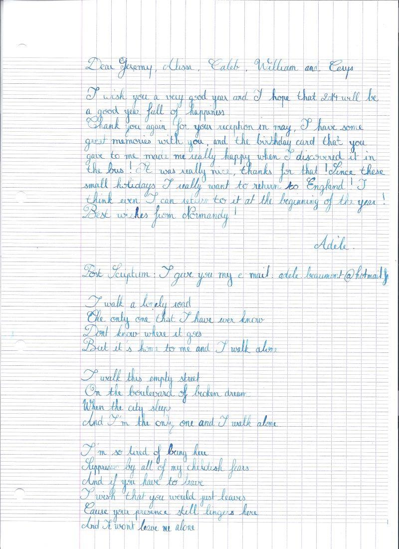 Écriture Anglaise Callig11