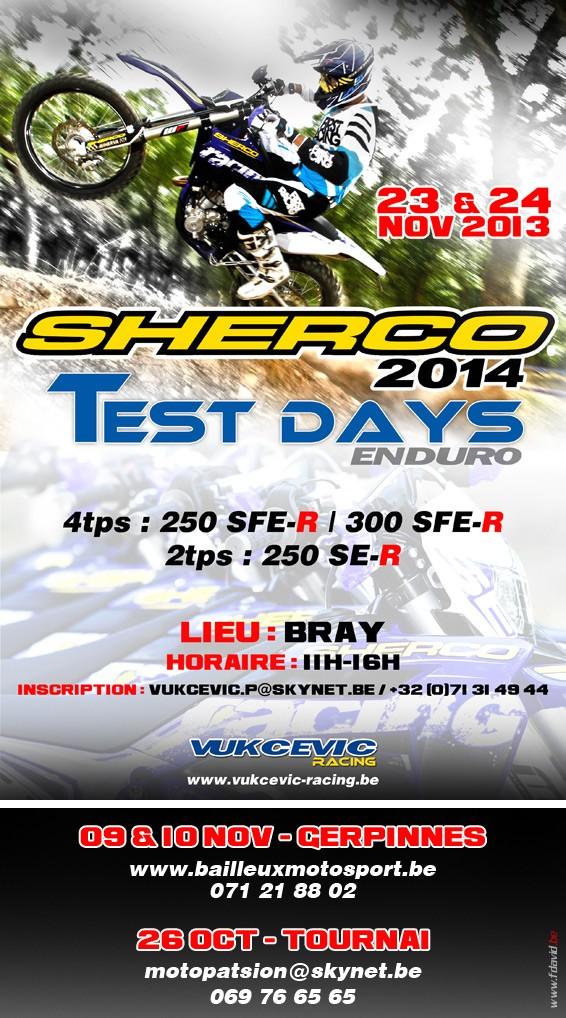 Sherco 2014 - Test Day  Sherco10
