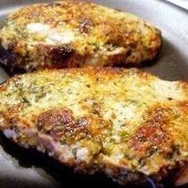 Chuletas de cerdo empanizadas estilo italiano Chulet11