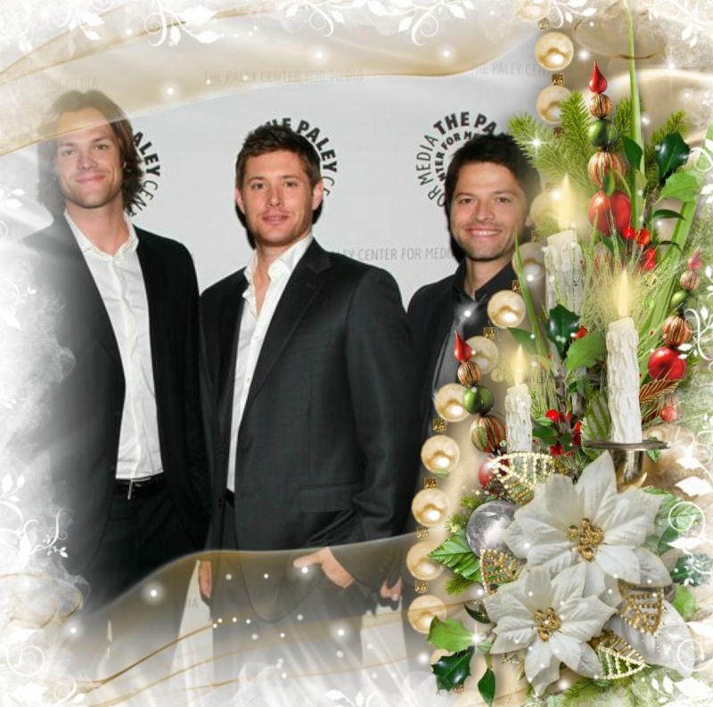 supernatural - Supernatural/Deux frères et un ange/Dean-Sam-Castiel/G - Page 4 Happy_14