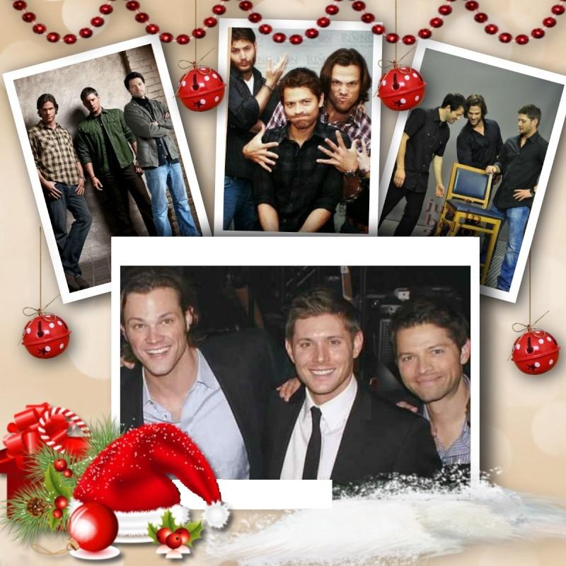 supernatural - Supernatural/Deux frères et un ange/Dean-Sam-Castiel/G - Page 4 Merry_13