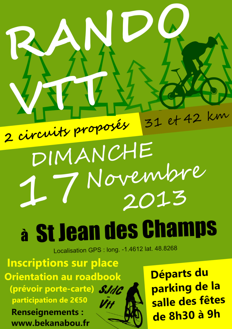 Dimanche 17 Novembre - Saint Jean des Champs Affich11