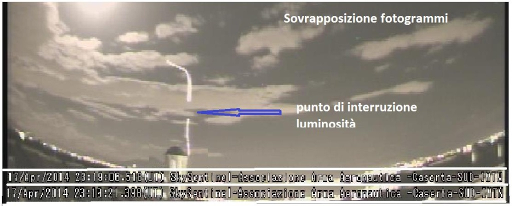 Unidentified Aerial Phenomenon - 17.04.2014 - 23:19 UT Luce_a11