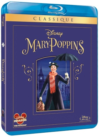 [DVD & Blu-Ray Disc] Mary Poppins (mars 2014) 81wu2e11
