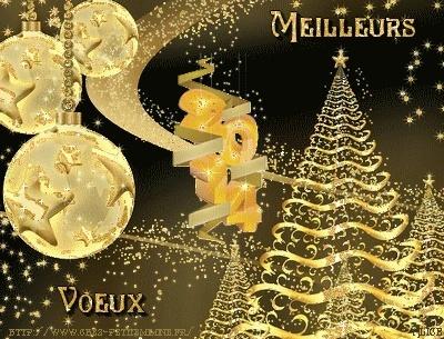 Belles images pour vos souhaits de bonne année  A7188010