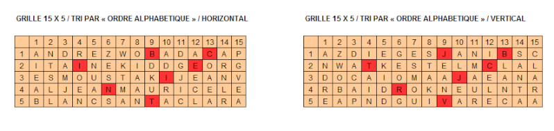 Grille 7 Grille11