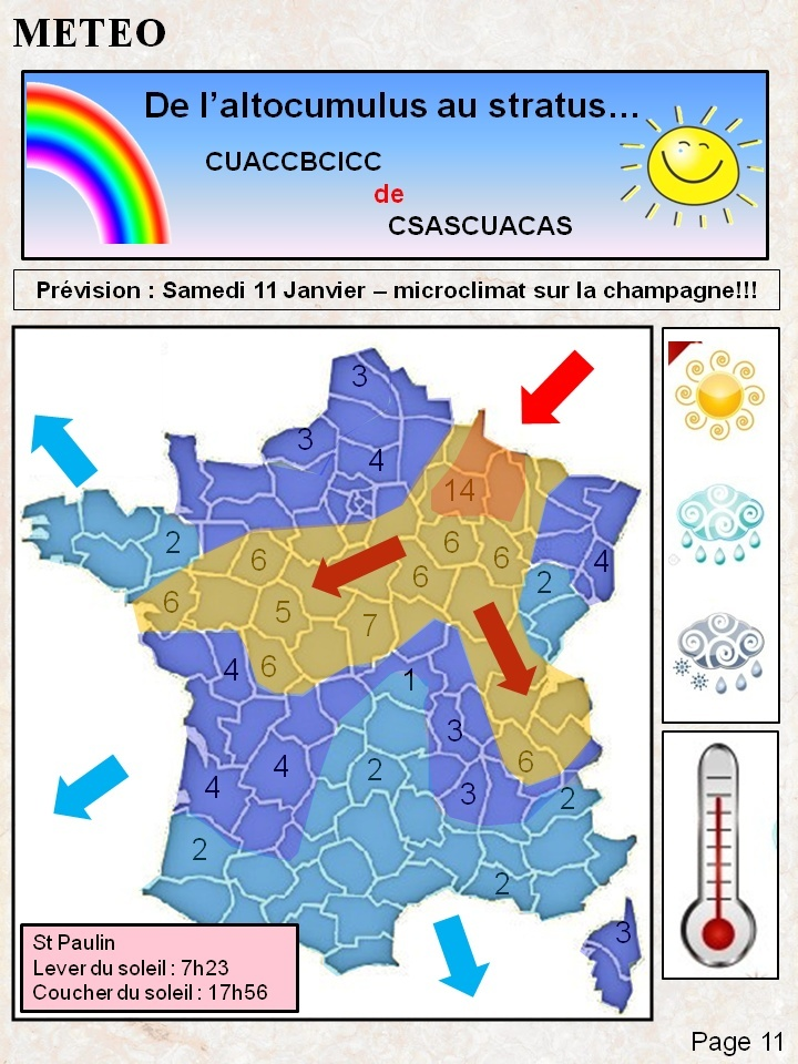 METEO résolue - MESURE : LA PERCHE Meteo10
