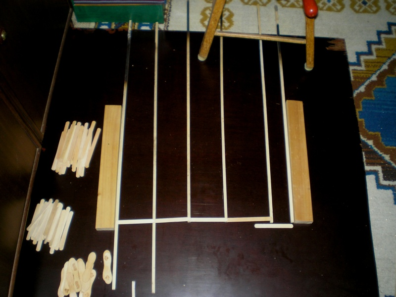 Bemalungen, Umbauten, Eigenbau - Gebäude mit Bodenplatten für meine Dioramen 003a2_11
