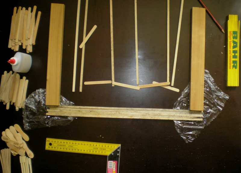 Bemalungen, Umbauten, Eigenbau - Gebäude mit Bodenplatten für meine Dioramen 003b1_11