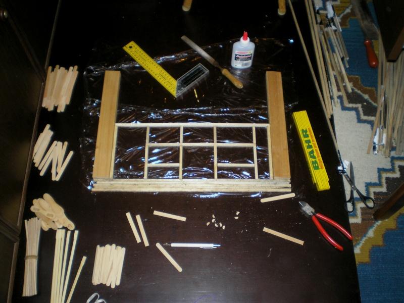 Bemalungen, Umbauten, Eigenbau - Gebäude mit Bodenplatten für meine Dioramen 003b2_10