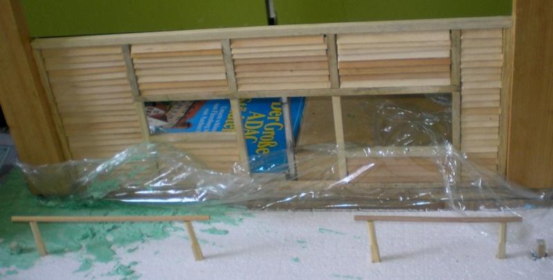Bemalungen, Umbauten, Eigenbau - Gebäude mit Bodenplatten für meine Dioramen 003d2a10