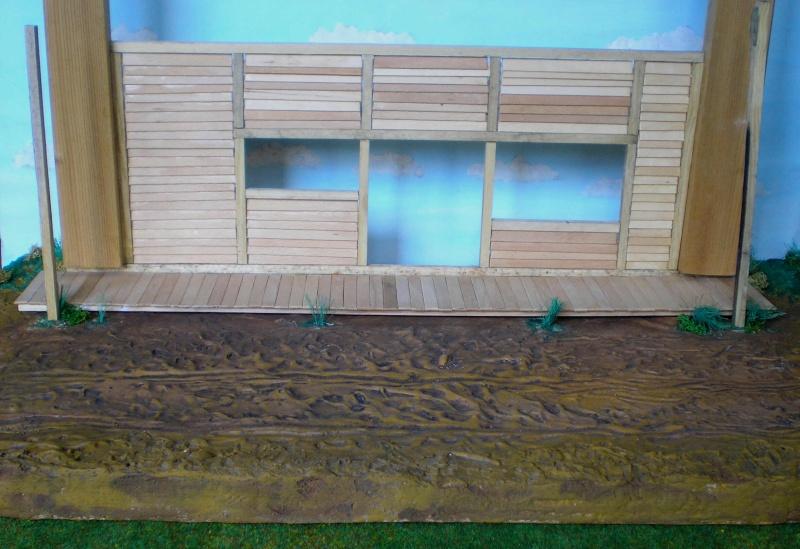 Bemalungen, Umbauten, Eigenbau - Gebäude mit Bodenplatten für meine Dioramen 003d4a10