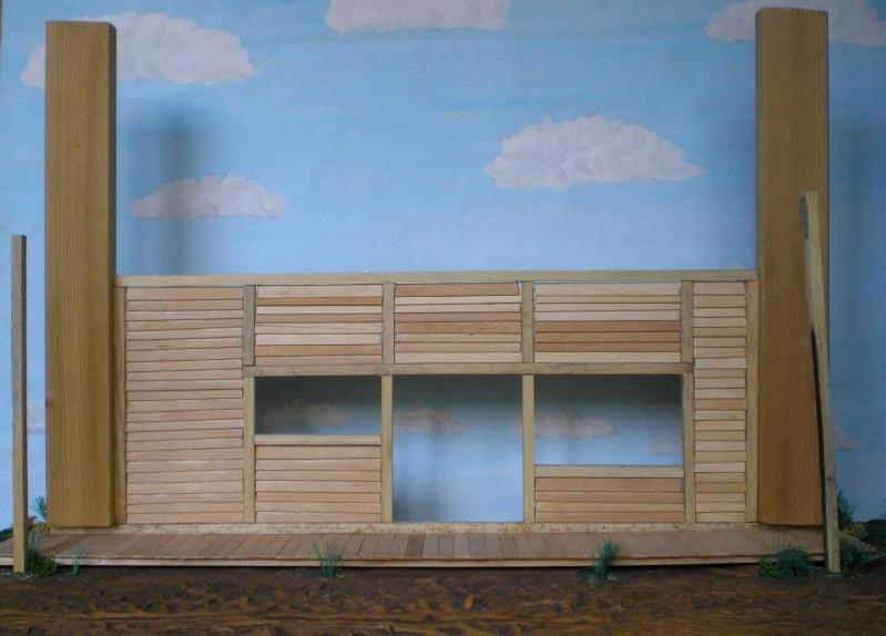 Bemalungen, Umbauten, Eigenbau - Gebäude mit Bodenplatten für meine Dioramen 003d4b10