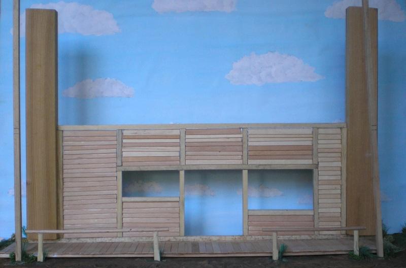 Bemalungen, Umbauten, Eigenbau - Gebäude mit Bodenplatten für meine Dioramen 003e1a10