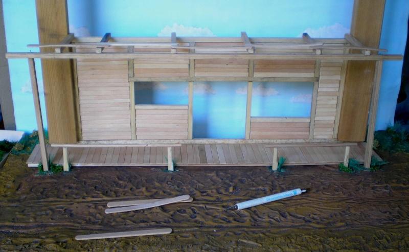 Bemalungen, Umbauten, Eigenbau - Gebäude mit Bodenplatten für meine Dioramen 003e1b10