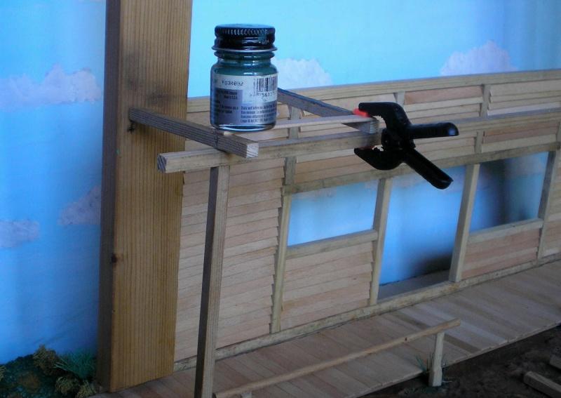 Bemalungen, Umbauten, Eigenbau - Gebäude mit Bodenplatten für meine Dioramen 003e1c10
