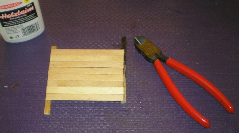 Bemalungen, Umbauten, Eigenbau - Gebäude mit Bodenplatten für meine Dioramen 003e1d10