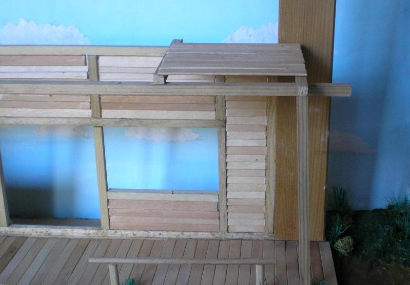 Bemalungen, Umbauten, Eigenbau - Gebäude mit Bodenplatten für meine Dioramen 003e1e10